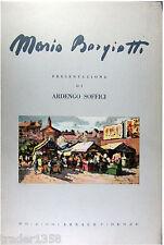 MARIO BORGIOTTI presentaz. Ardengo Soffici ARNAUD 1955 tavole a colori applicate
