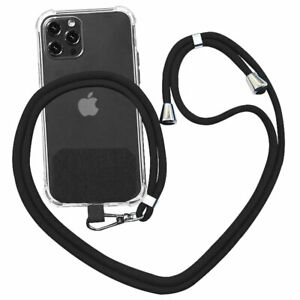 Universal Cell Phone Lanyard Crossbody with Nylon Patch for Most Smartphone