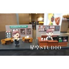 Starbucks 2018 China Girl Or Boy Building Block Toy Scene Magnet 1pc