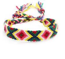 Handmade Brazilian Woven Handmade Cotton Thread String Friendship Bracelet