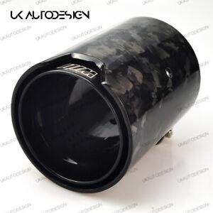 2 x BMW MP Black Forged Carbon Fibre Exhaust Tip M135i M140i M235i M240i