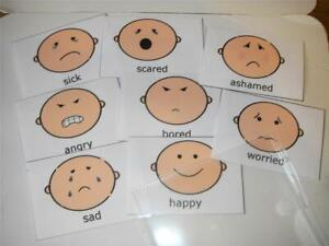 EMOTIONS FLASH CARDS IN POUCH