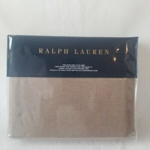 New Ralph Lauren King Extra Deep Fitted Sheet- MODERN ICONS Ruth Taupe