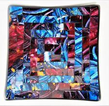 Mosaic Plates Serving or Decorative Dish Home Decor