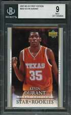 2007-08 ud first edition #202 Kevin Durant rookie card Okc thunder Bgs 9