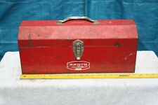 "J9971 Vintage Proto Professional 19"" Tool Box Toolbox with Carrying Tray Caddy"