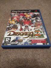 Disgaea 2: Cursed Memories (Sony PlayStation 2, 2006)