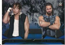 #3 DEAN AMBROSE vs SETH ROLLINS 2016 Topps WWE Then Now Forever WWE RIVALRIES