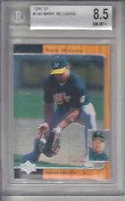 1996 SP Card #140 Mark McGwire ATHLETICS Z17291 - BVG NmMt+ (8.5)