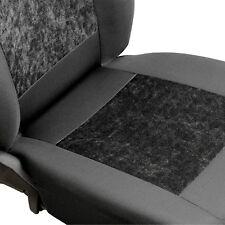 Grauer Velours Sitzbezüge für VOLKSWAGEN GOLF Autositzbezug Komplett