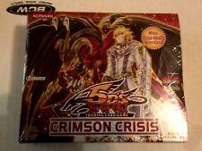 YuGiOh Crimson Crisis Factory Sealed Booster Box 1st Ed Edition English