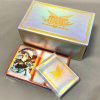 YUGIOH: ARC-V Dimension Box, Official Sleeve, 4 Deck Case, & Storage Box SET