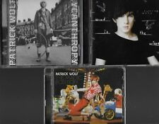 PATRICK WOLF 3 EXCELLENT CDS LYCANTHROPY WIND IN THE WIRES THE MAGIC POSITION