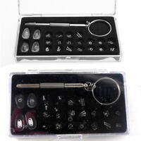 705312db352 Screw Nut Nose Pad Optical Repair Tool Assorted Kit Set For Eyeglass Sun  Glass