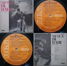NICOLA DI BARI IN ITALIAN 1974 UNIQ CVR & PS & TRCKLST! UNIQ CHILEAN PRESS ONLY!