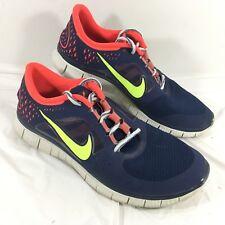 GUC Men's Nike Free Run 3 Blue Running Shoes Sz 12