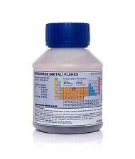 500g Manganese metal flakes • electrolytic Mn 99.85%•