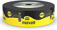 25 x Maxell CD-R Blank Discs Recordable 700MB 52x Speed 80 Mins Extra Protection
