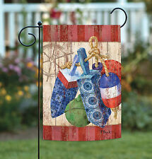 NEW Toland - Rustic Floats and Wheel - Vintage Ocean Buoy Garden Flag