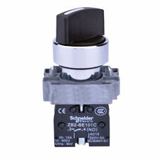 5 PCs XB2-BD25C ON-OFF 2-Position 2NO Latching Rotary Selector Switch *PQT
