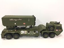 "GI JOE ELECTRONIC MOBILE MISSILE LAUNCHER 35"" LONG 2002 IN WORKING CONDITION"