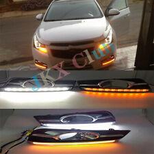For Chevrolet Cruze 2009-2014 Daytime Running Light Lamp Turn Signal LED DRL k