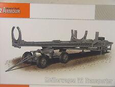 V2 Transportwagen / Meillerwagen  - Special Armour Bausatz 1:72 - 72012  #E