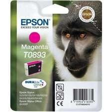 Original Epson T0893 Ink c13t08934010 Stylus SX100 SX215 SX4 MHD 08/2019