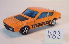 Majorette 1/55 Nr. 219 Matra Simca Bagheera Coupe orange Seitenbeschr. Nr.2 #483