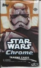 STAR WARS CHROME , trading cards  pack
