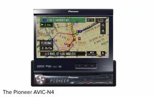 """Pioneer In- Dash AVIC-N4 7""""  LCD Touch Screen DVD Player GPS Bluetooth Stereo"""