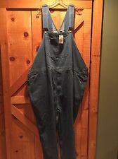 Liberty Blues Denim Jean Bib Overalls BIG 64x38 New NWT 100% Cotton