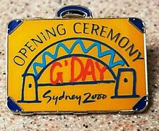 RARE Opening Ceremony G'Day Briefcase Sydney Summer Olympic 2000 pin