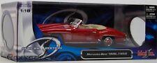Maisto Special Edition 1955 Mercedes-Benz Red 190SL 1:18 Die Cast Car
