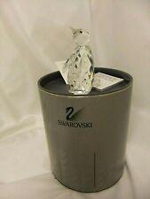"Swarovski Silver Crystal Figurine: 3 1/4"" Penguin, Art. 7643 NR 85 with box"