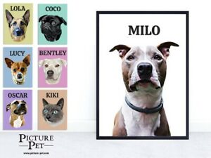 Personalised Custom Pet Dog Cat Portrait Renaissance Funny Gift Digital copy