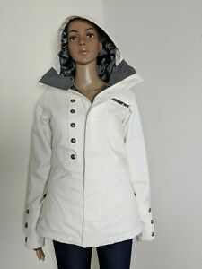 Burton Dryride White Ivy Womens Jacket Size XS Snowboard