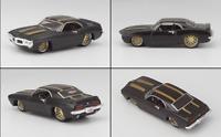 1/64 Scale Maisto 1969 Pontiac Firebird Black Diecast Vehicles Car Miniature Toy
