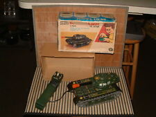 VINTAGE MASUDAYA FULLY TIN W/TETHERED B/O R/C FULLY OPERATIONAL M-81 TANK W/BOX!