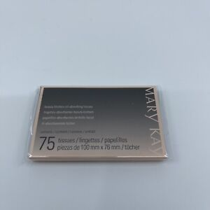 MARY KAY BEAUTY BLOTTERS~OIL ABSORBING TISSUES -75PC