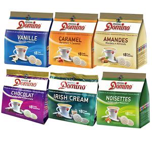 Domino Kaffeepads aromatisiert Pads für Senseo Pads-Maschinen Mengenrabatt