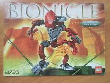 Lego Bionicle -8736 Vakama TOA horoika # de recette # Action Figurines-Fantasy