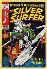 SILVER SURFER #11 VF/NM (9.0) *Stan Lee story, John Buscema & Dan Adkins cover*