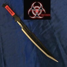 Zombie Blood Slayer Black Blade Full Tang Machete/Sword & Sheath- Pre Order