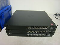 Lot of 3 Dell N2024P 24-port Switch Lot READ DESCRIPTION free shipping