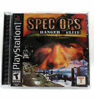 Spec Ops Ranger Elite Sony Playstation 1 2001 PS1 Take 2 Video Game