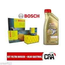 Kit tagliando olio CASTROL LONGLIFE 04 6LT 4 FILTRI BOSCH BMW 318D 320D E46