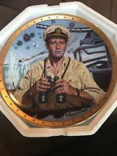 John Wayne, Symbol Of America'S Naval Heroes Plate by Robt Tanenbaum
