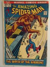 Marvel AMAZING SPIDER-MAN #110 (1972) 1st Appearance of the Gibbon