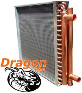 "20"" x 20"" Water to Air Heat Exchanger, 160,000 BTU (Dragon Quality)"